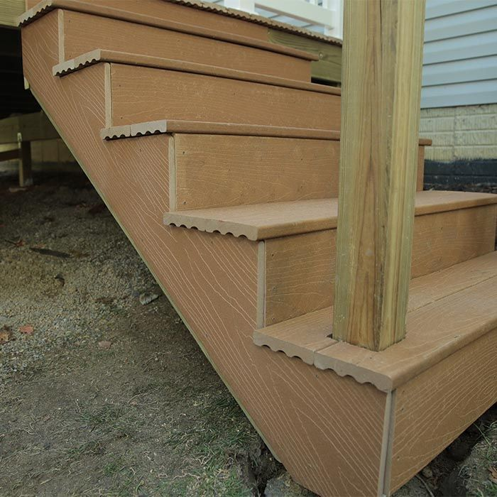 Best How To Build A Deck Composite Stairs And Stair Railings 640 x 480