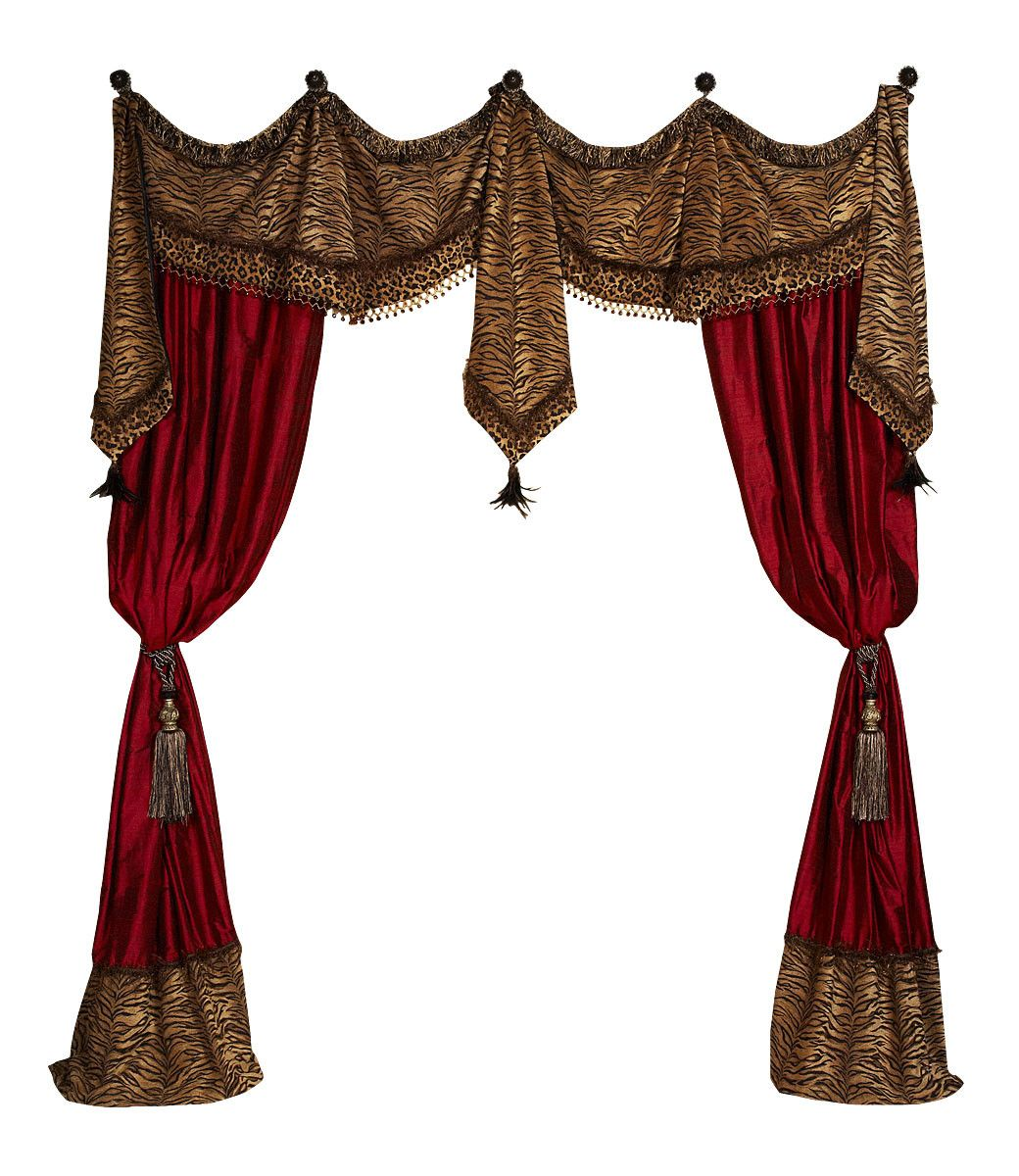 Style 13 Valance Curtain Panels In 2019 Luxury Curtains