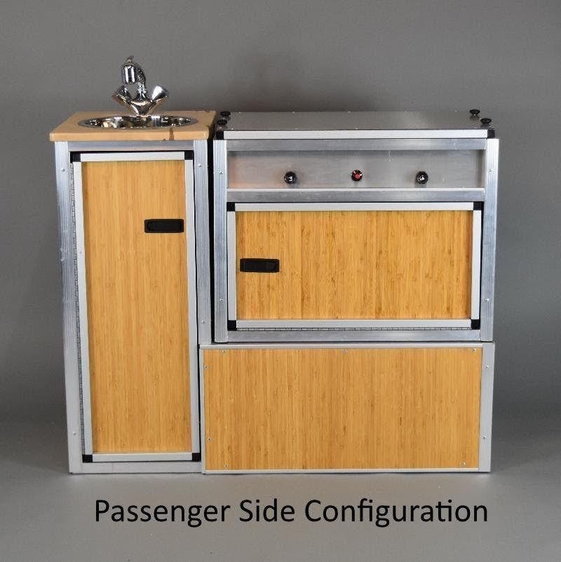 Passenger Side Tk Van Kitchen Camper Kitchen Kitchen Set Up Camper