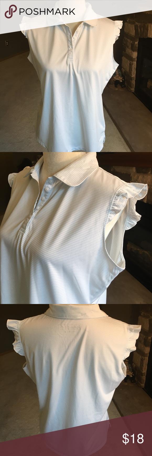21edfffba06f2d Lady Hagen Sleeveless Golf Shirts - Cotswold Hire