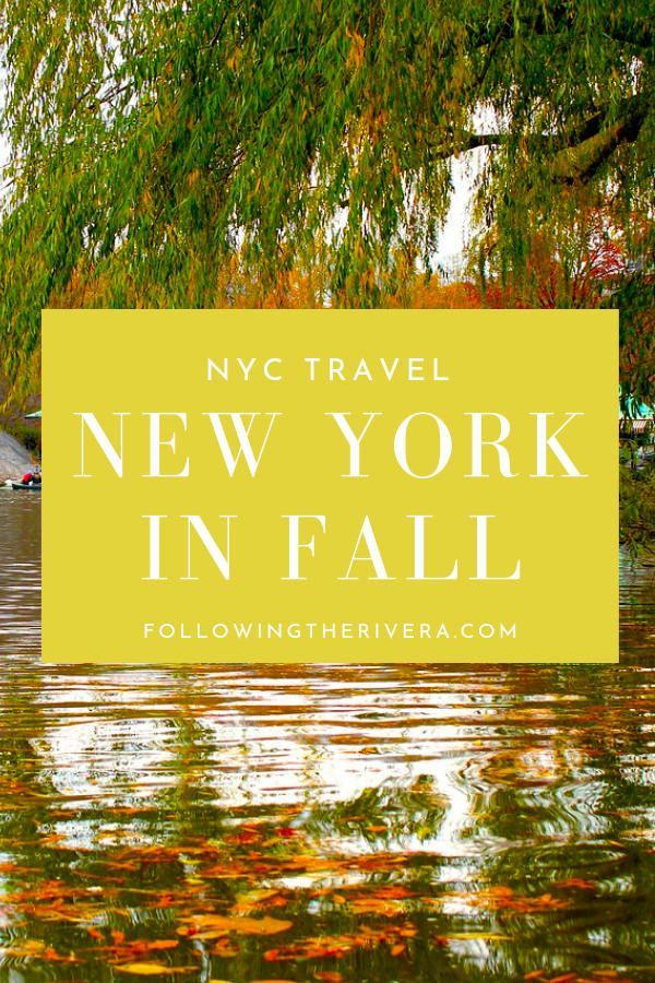 New York in fall - top attractions to see the change in season #autumninnewyork