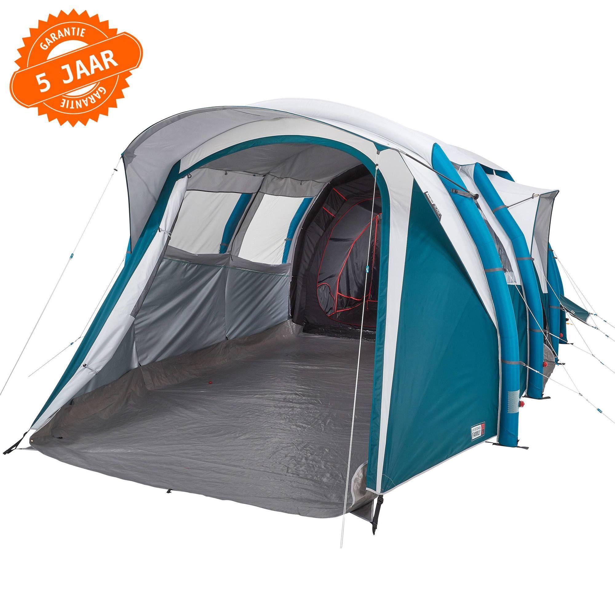 Opblaasbare Gezinstent Family 6 3 Xl Fresh Black 6 Personen Ontworpen Voor Een Gezin Van Zes Dat Een Gemakkelijk Op T Kamperen Met De Tent Tent Pop Up Tent