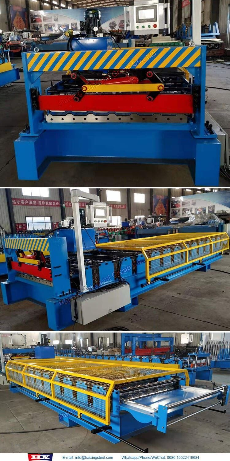 Aluminium Wall Sheet Roof Roll Forming Machine In 2020 Roofing Sheets Aluminum Wall Metal Tile