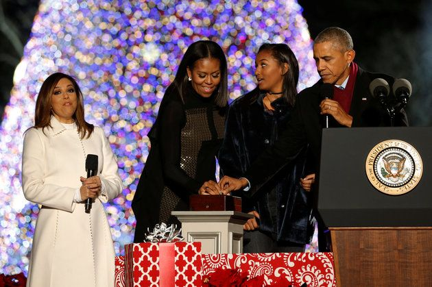 A Flashback To The Obamas' 'Magical' First Christmas In The White House   The Huffington Post