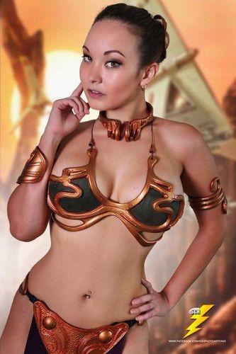 Bikini gold in jabbas leia slave — img 11