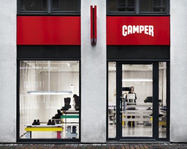 super popular 136bc 3dc12 Tienda Camper en Malmo TAF fachada.AF