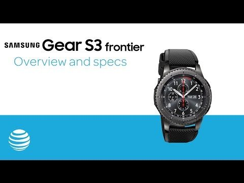 AT&T taking Samsung Gear S3 Frontier The 1 st 4G LTE