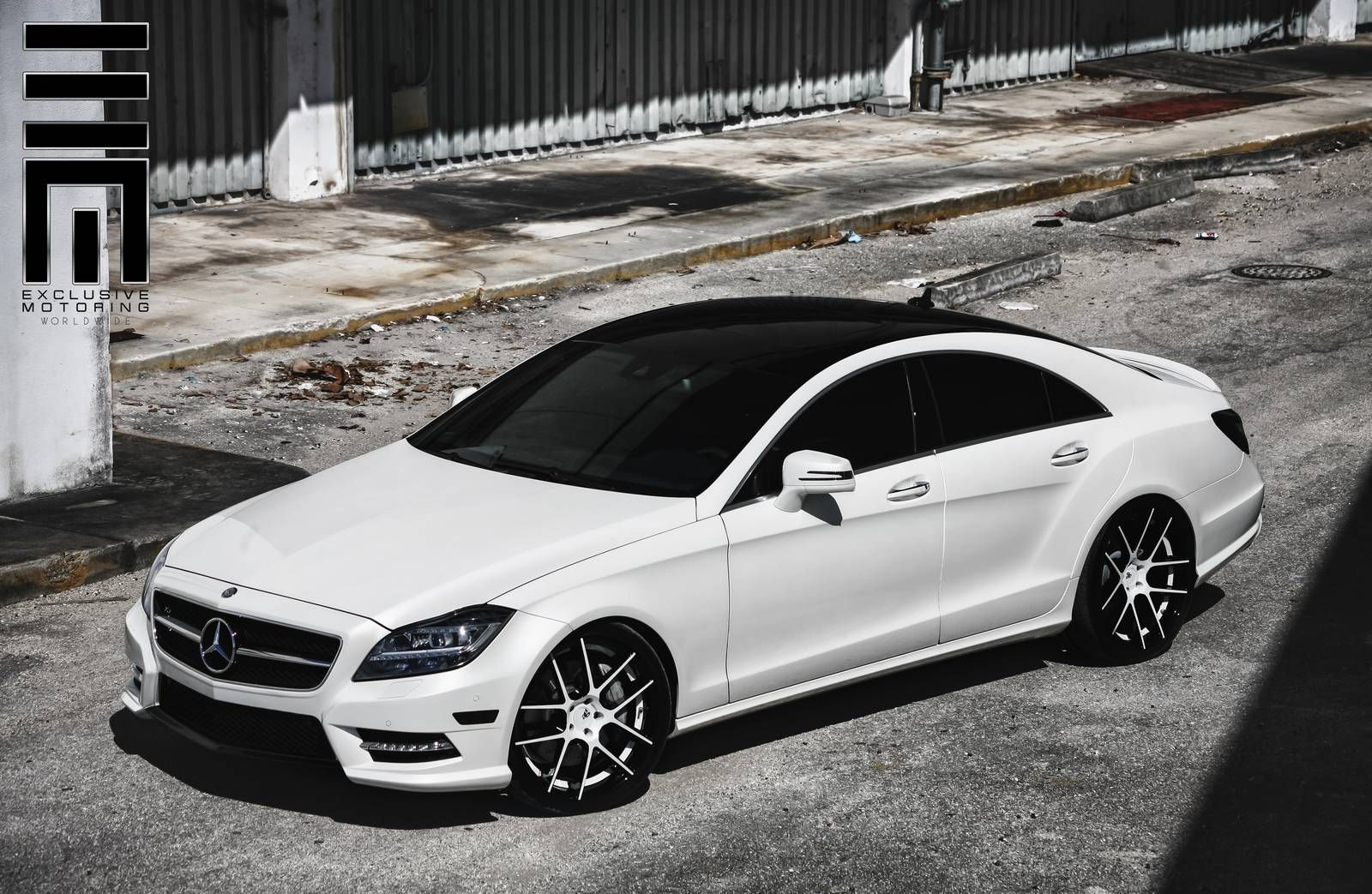 Mercedes benz cls550 with avant garde wheels by exclusive for Mercedes benz 550 cls