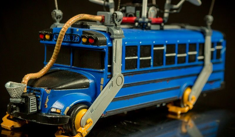 All Aboard This 3d Print Of Fortnite S Battle Bus With Images