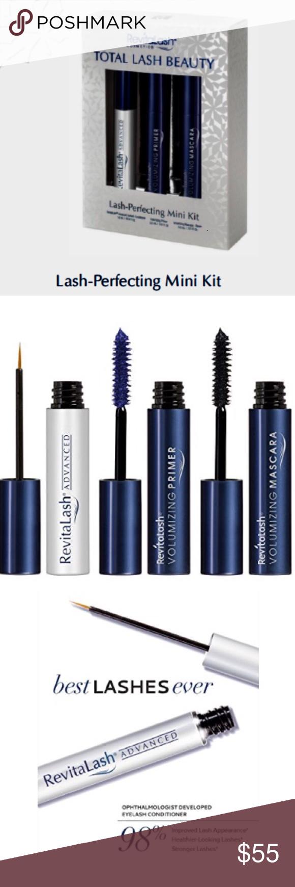 9083574bf50 💕Revitalash Cosmetics total lash beauty mini kit. Total lash beauty, lash -perfecting