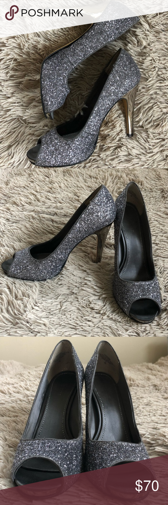 Stiletto Glitter Heel #partytime