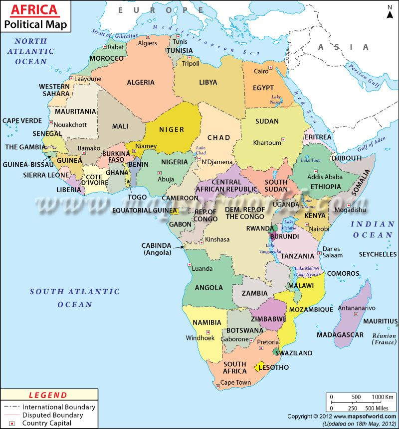 Political map of africa shows countries and their capitals political map of africa shows countries and their capitals gumiabroncs Choice Image