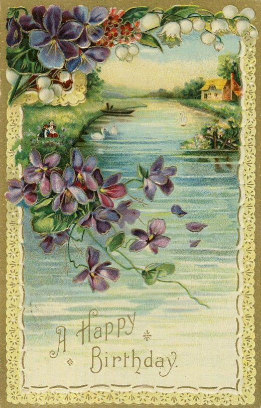 Antique Greeting Postcards Collecting Sets Vintage Birthday Cards Antique Postcard Vintage Postcard