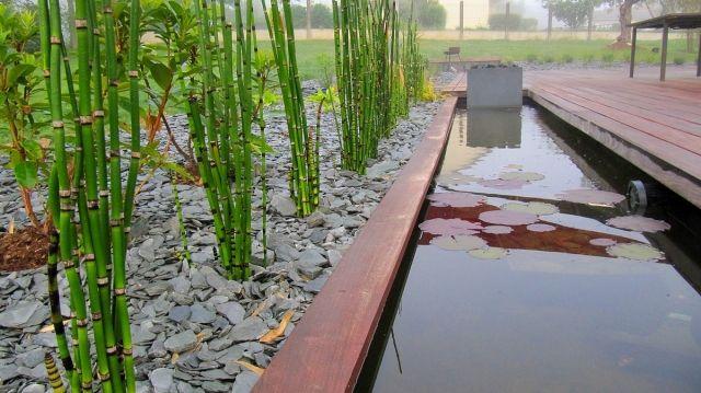 Créer un bassin contemporain dans votre jardin | Verandas and Gardens