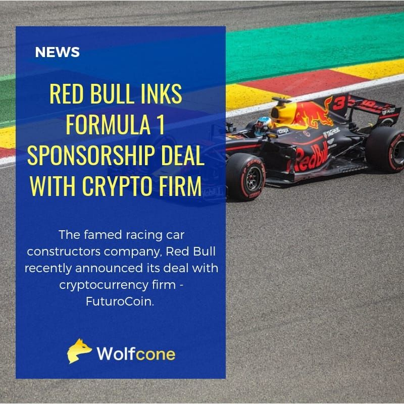 Red Bull inks Formula 1 sponsorship deal with Crypto firm