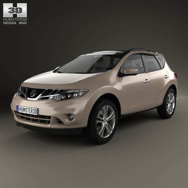 Nissan Murano (Z51) 2013 3d Model From Humster3d.com. Price: $75