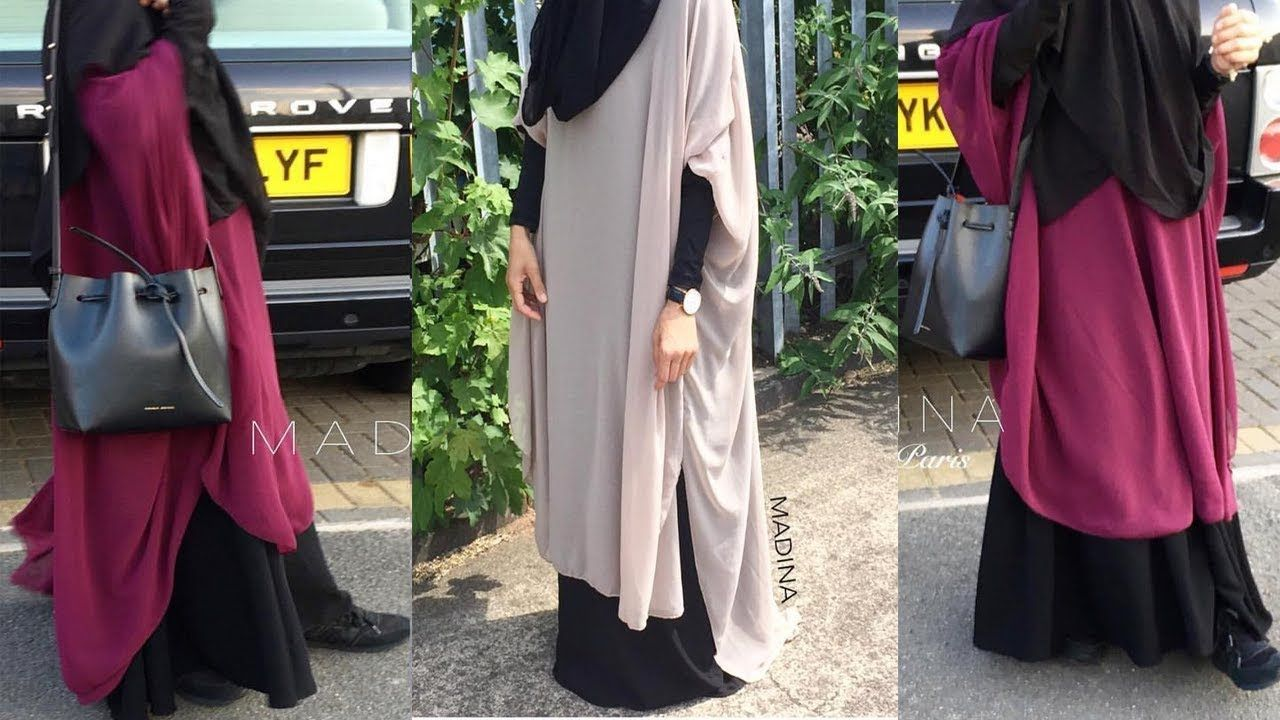 طريقة تفصيل حجاب شرعي رائع من قطعتين لفصل الصيف Youtube Fashion Hijab Fashion Style