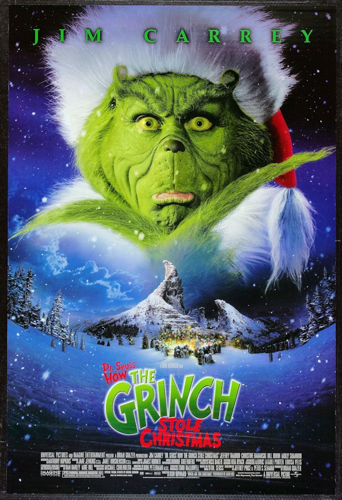 How The Grinch Stole Christmas 1966 Movie Poster.How The Grinch Stole Christmas 1966 Movie Poster 8 00