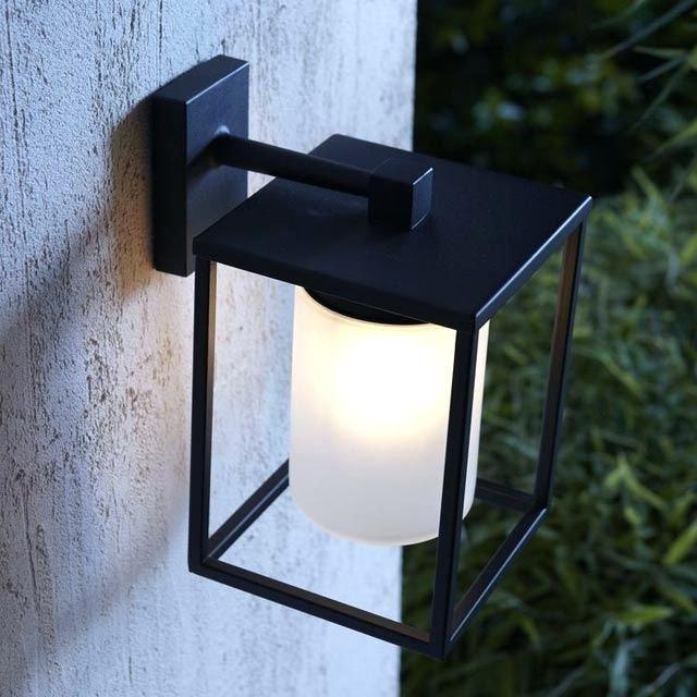 Lampe exterieur pour terrasse applique extacrieure jupiter noir castorama eclairage exterieur led pour terrasse