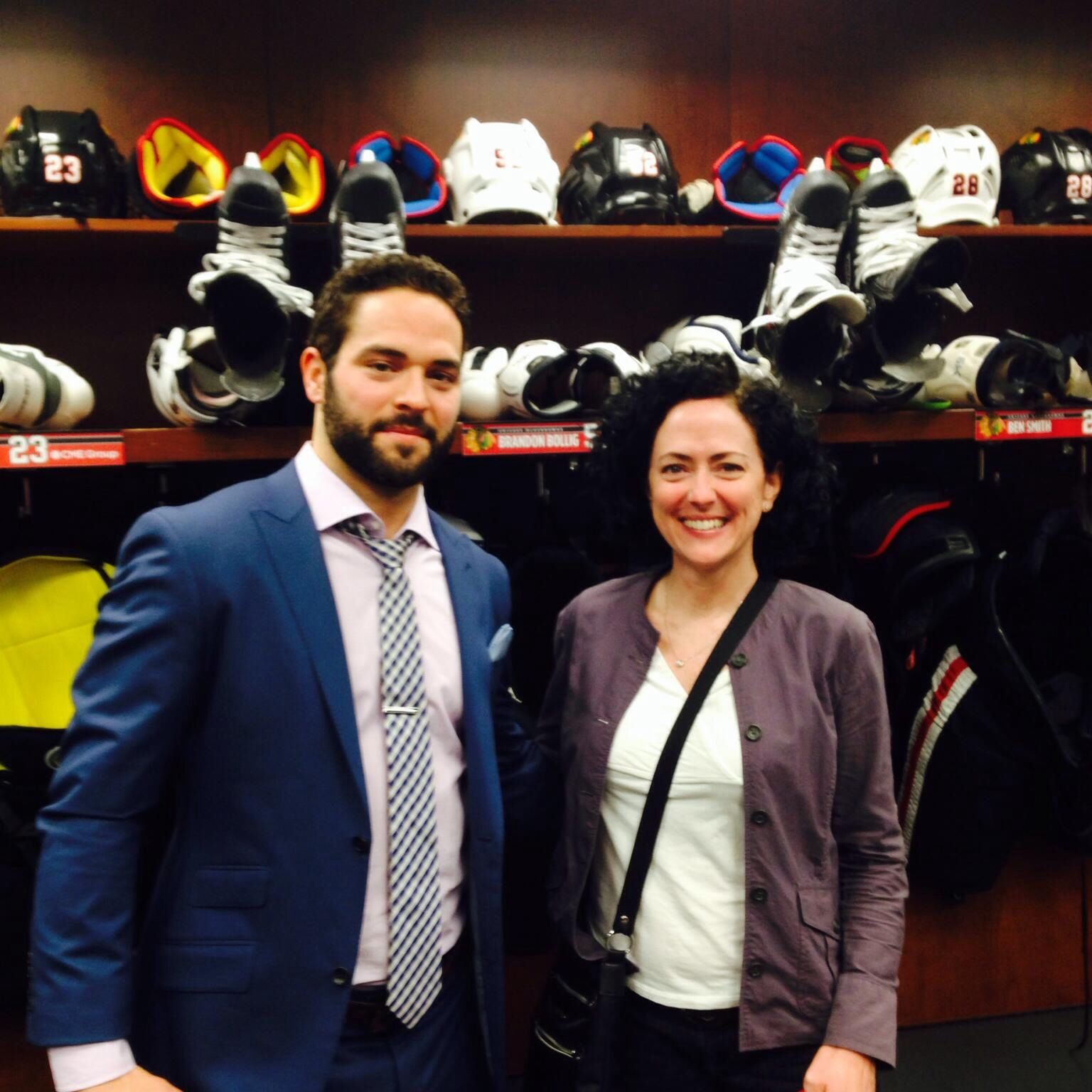 Seriously... Pinterest needed a better pic of Bollig and his B E A UTIFUL Mama!!!!