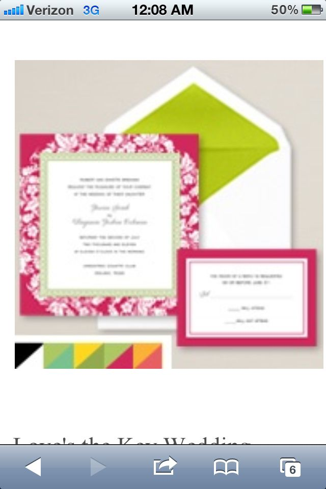 Very colorful, fun wedding invites! | Wedding Stuff ✈ | Pinterest ...
