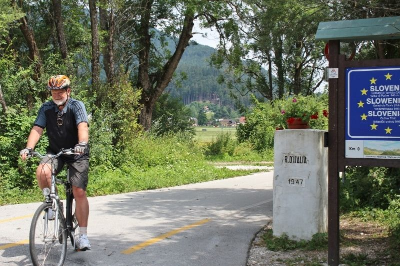 Radweg Tarvisio - Kranjska Gora