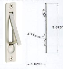 Pocket Door Rollers, Keyed Pocket Door Locks, Sliding Door Track And Guides  Including Hard To Find Parts