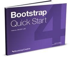 Bootstrap 4 Quick Start Book Web Development Tutorial Web Design For Beginners Online Teaching Resources