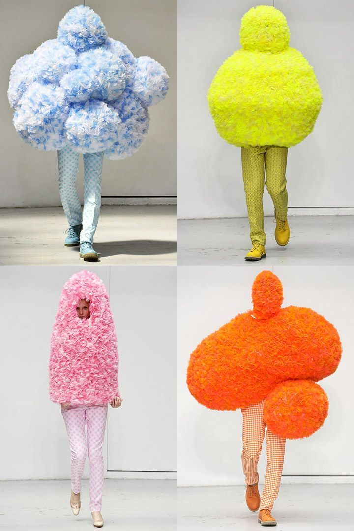 Walter Van Beirendonck x Erwin Wurm, spring\/summer 2012 Would love - see resumes