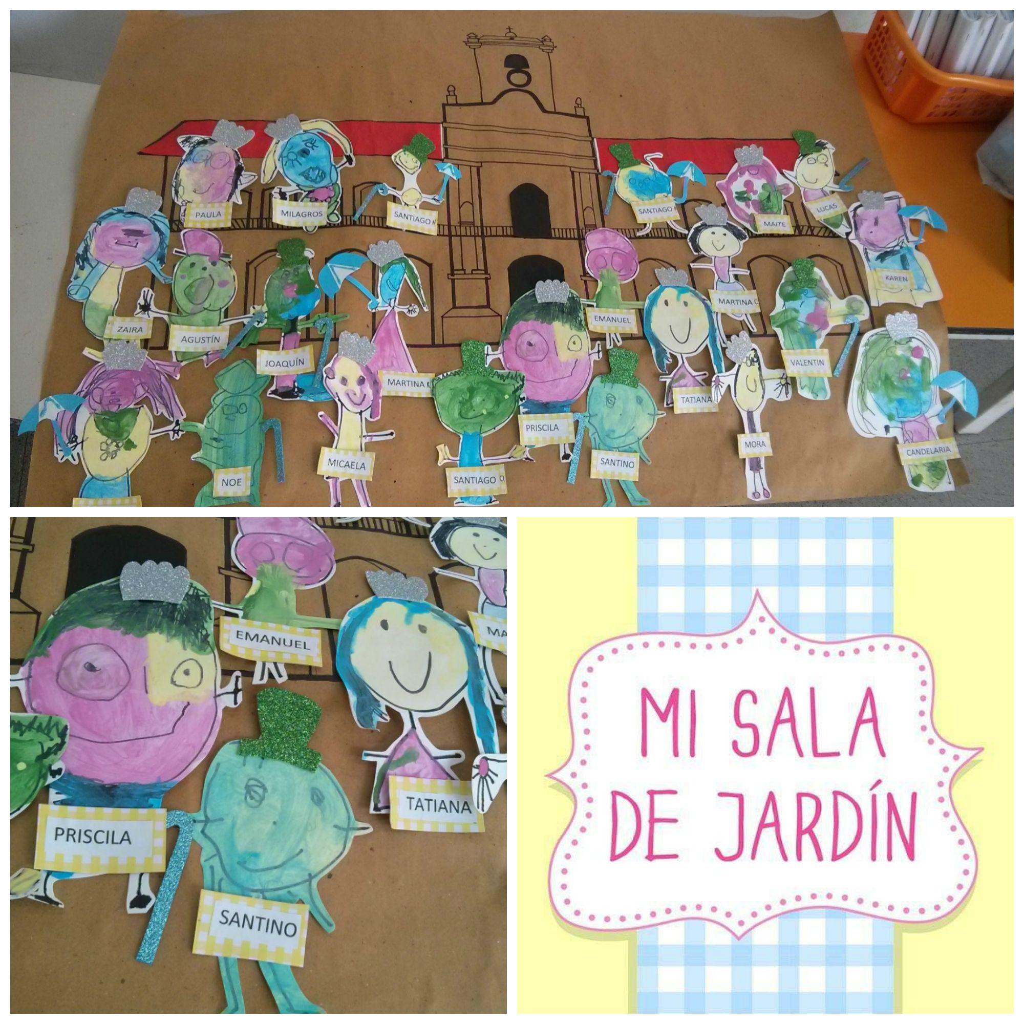 Pin de Mi Sala de Jardín en Efemérides Argentinas para ...
