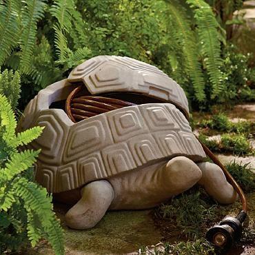 Turtle Hose Pot