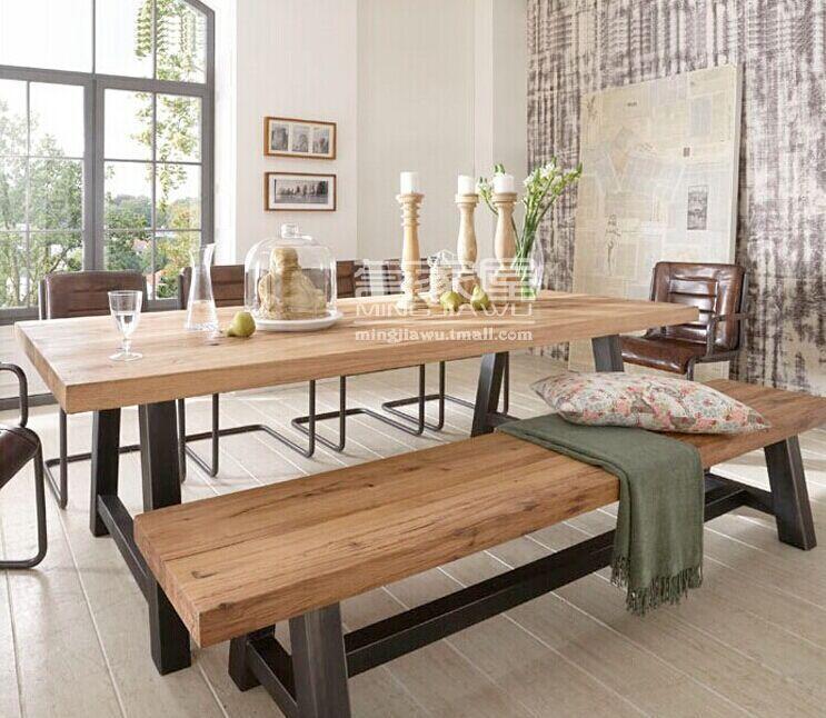 Cheap Restaurante americano comedor mesas y sillas hacer el viejo de ...