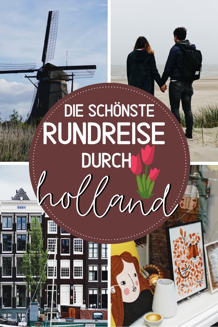 Wohnmobilreise durch ganz Holland - Nordsee, Tulpenblüte und besondere Städte — Hoch