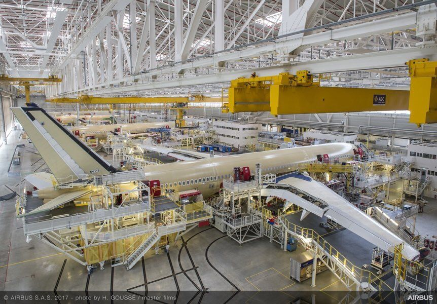 Airbus A350 production in Toulouse | The worldclass