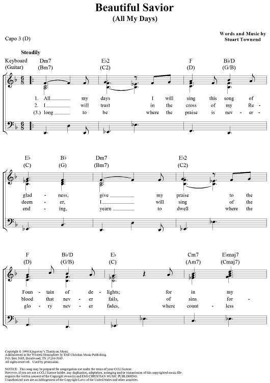 hope of all hearts chords pdf