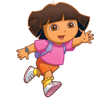Dora The Explorer Clip Art Online Dora The Explorer Cartoon Caracters Disney Cars Party