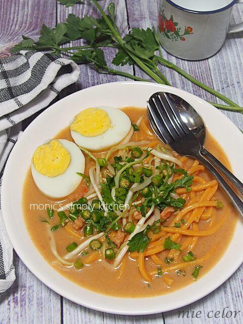 Mie Celor Palembang Resep Masakan Asia Resep Masakan Indonesia Resep Makanan