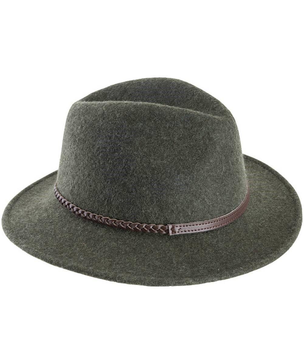 6dc9a79059b Barbour Tack Fedora Hat - Grey Melange