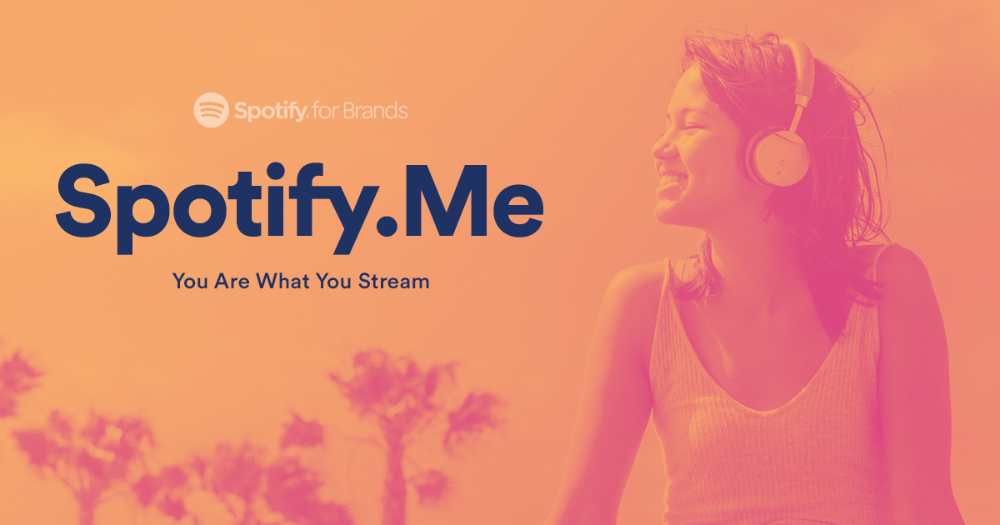 You are what you stream. Visit Spotify.me to check out how