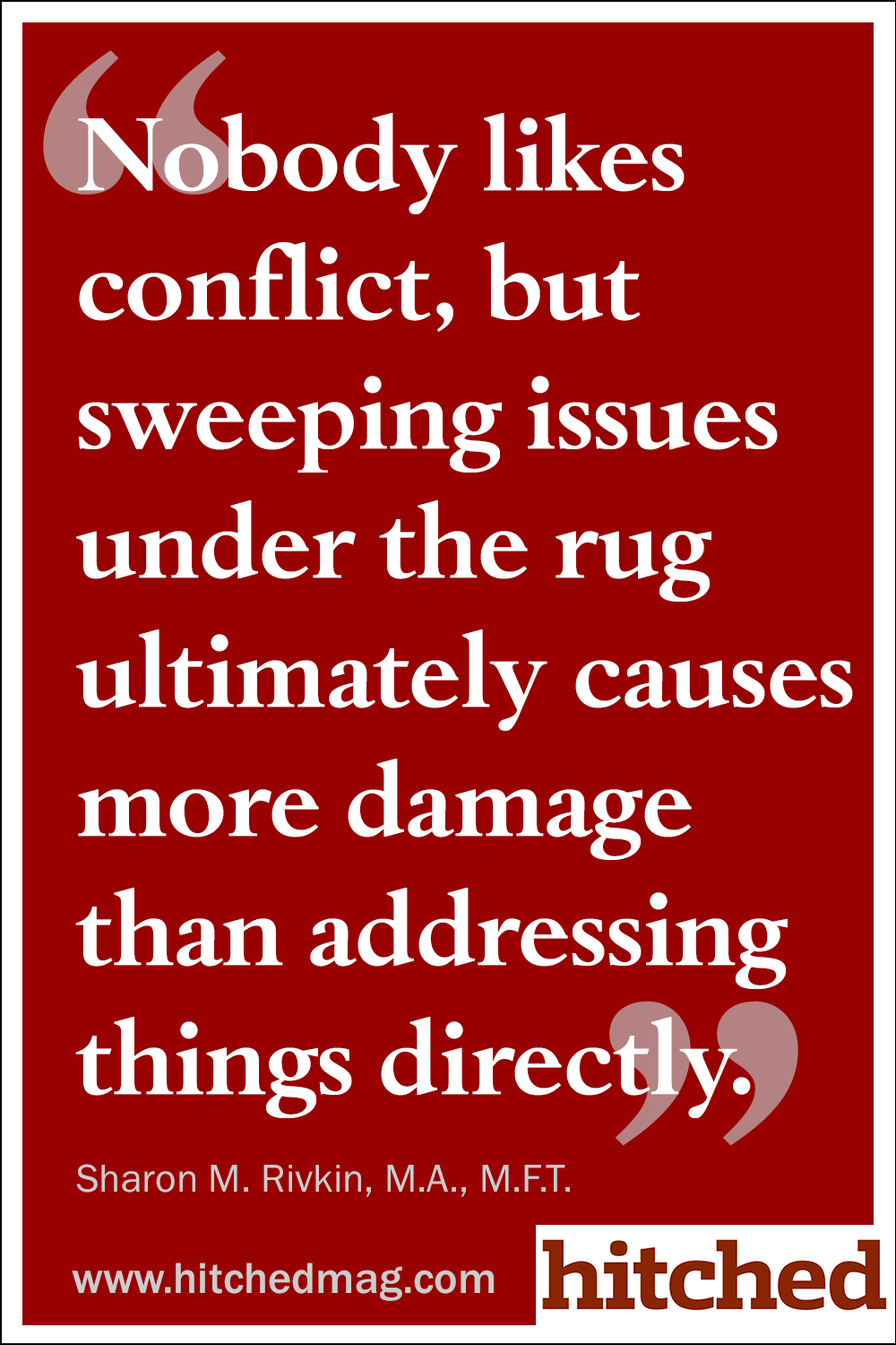 if you think something s not right just ask like you over you nobody likes conflict but sweeping issues under the rug ultimately causes more damage than addressing