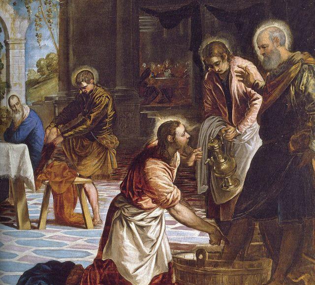 Jacopo Tintoretto 1518 1594 Ultima Cena Dettaglio 1548 1549