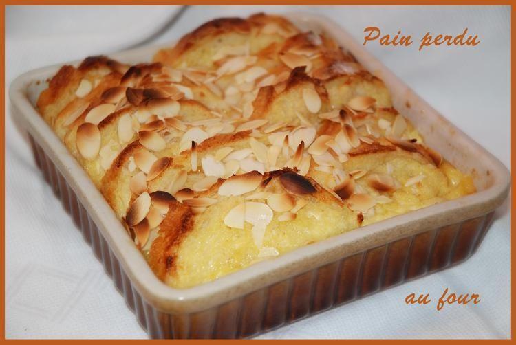 Pain Perdu Au Four Recette Cuisine Pain Perdu Recette Pain