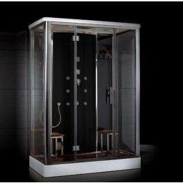 Ariel Dz956f8 Steam Shower With Body Massage Jets Steam Shower