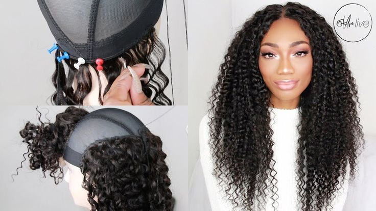 How to make a wig with a lace closure bundles start