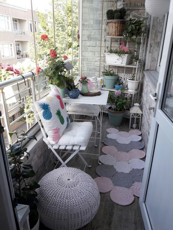WE MUST KNOW THE BALCONY DECORATION SKILLS - Page 50 of 58 #smallbalconyfurniture