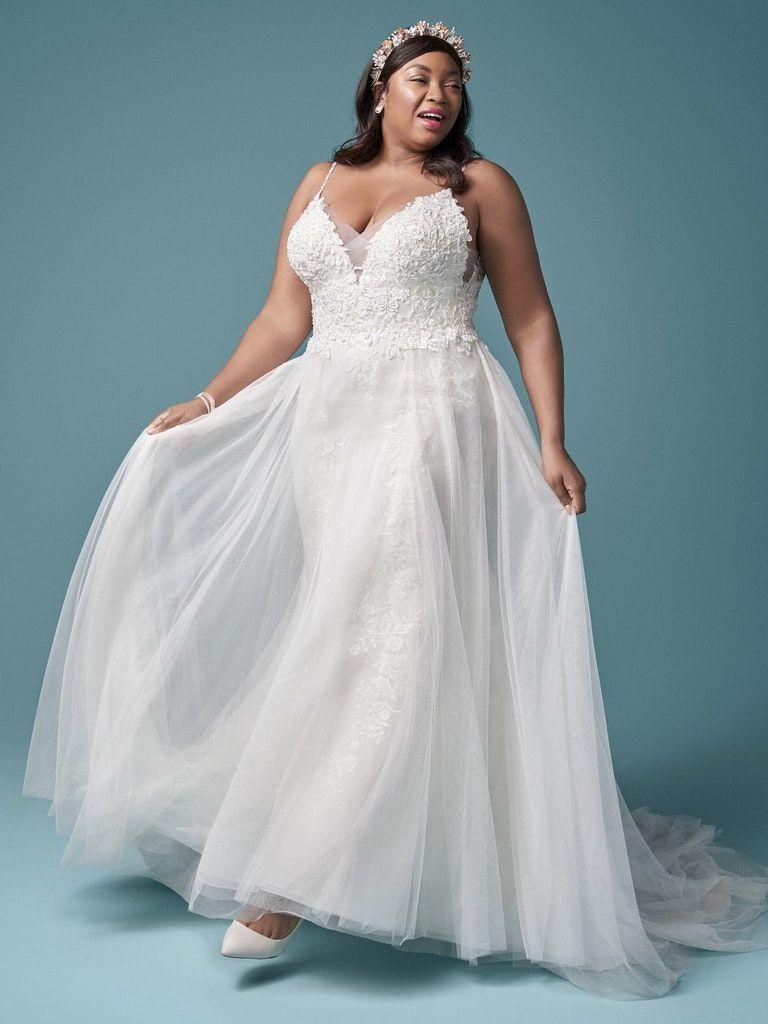 Beaded Lace Boho Wedding Dress With Light Layers In 2020 Maggie Sottero Wedding Dresses Wedding Dresses Sottero Wedding Dress [ 1024 x 768 Pixel ]