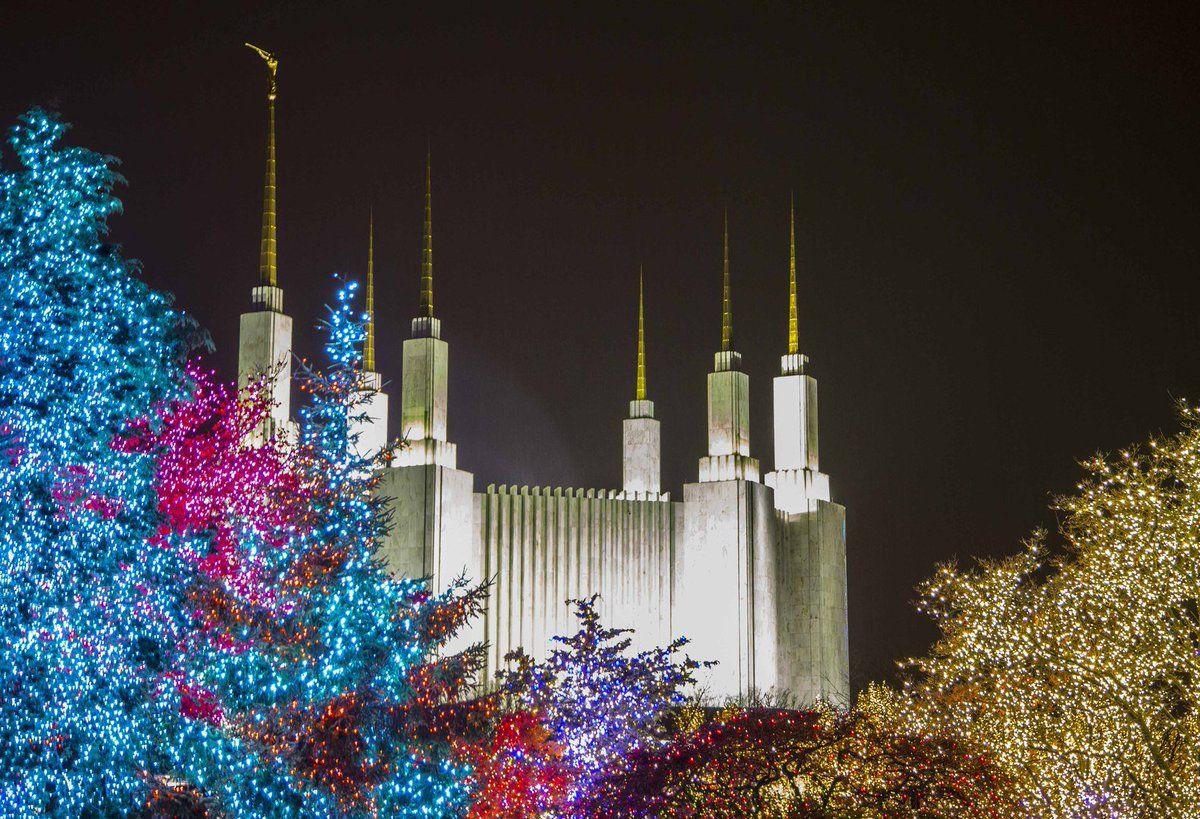 Christmas Time In Washington Dc.Gary E Stevenson On Washington D C Temple Christmas