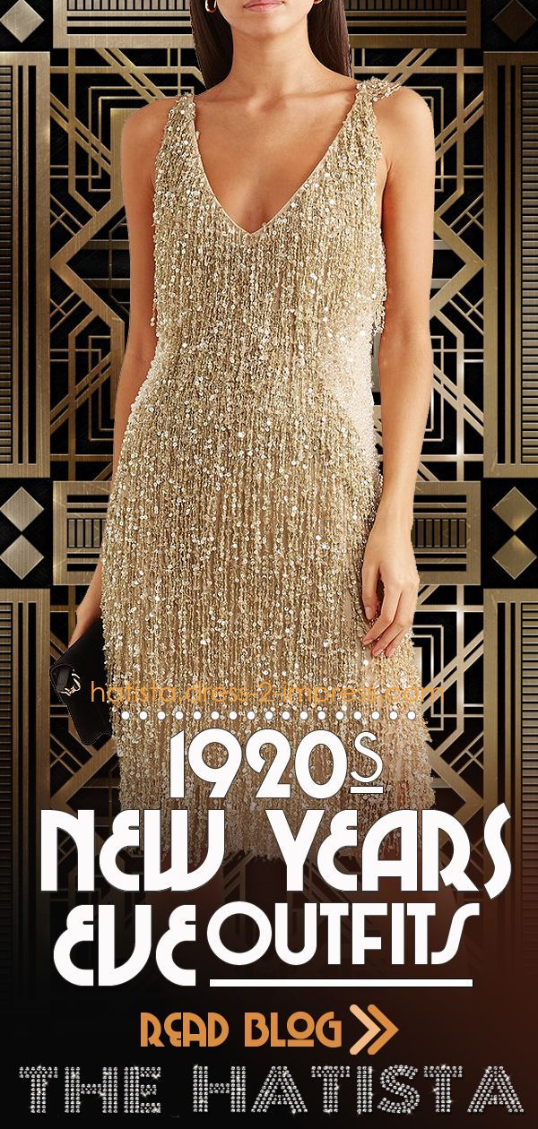 Great Gatsby New Years Eve Party Outfits. Roaring 20's