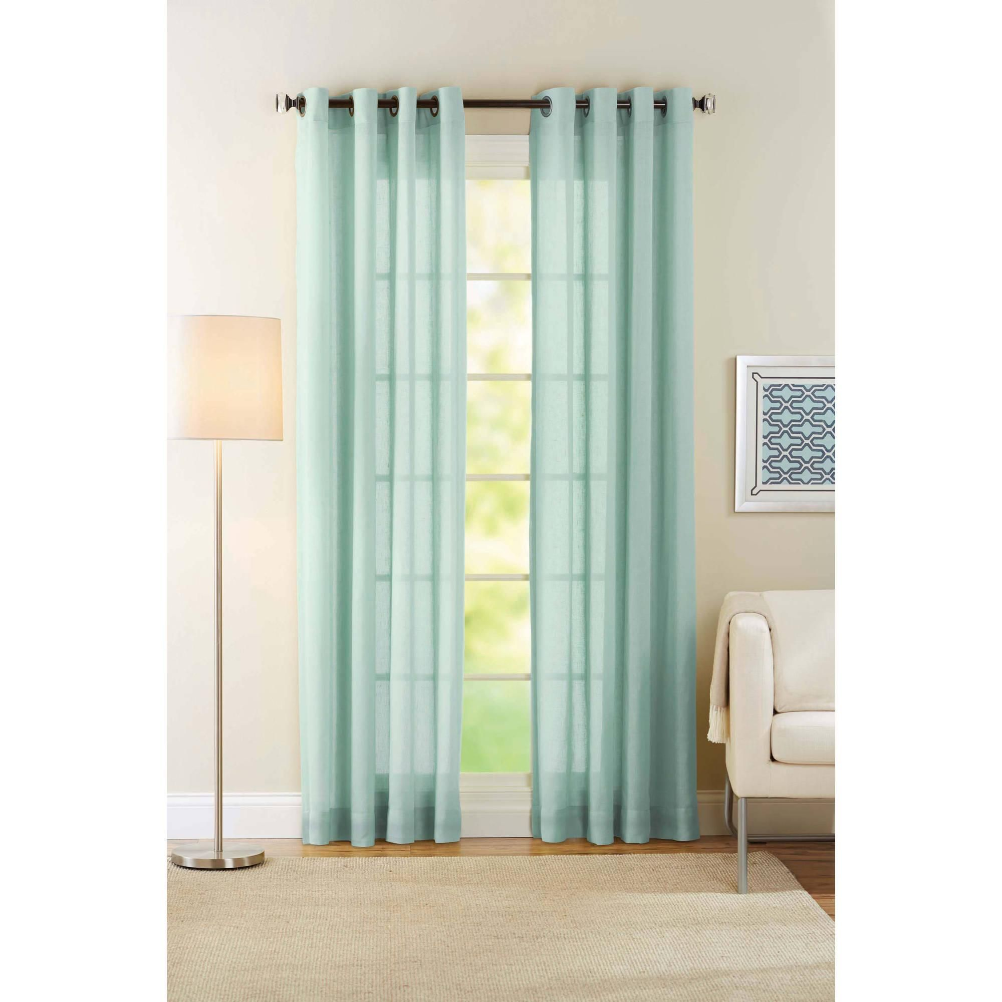 Turquoise Curtains Curtains Amp Drapes Walmart Com