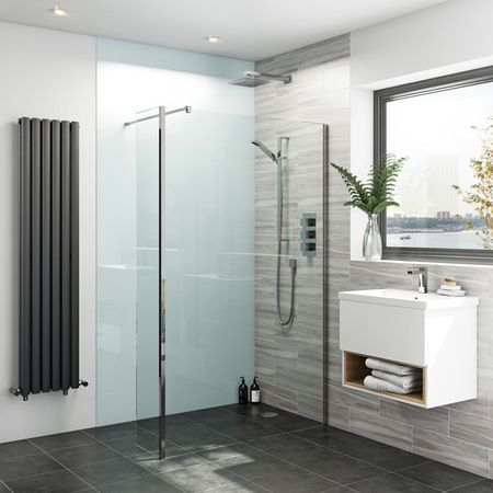 Zenolite plus air acrylic shower wall panel 2070 x 1000 | Acrylic ...